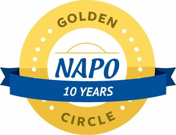 napo golden circle badge